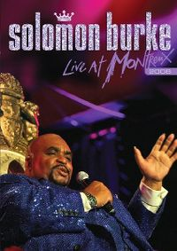 Cover Solomon Burke - Live At Montreux 2008 [DVD]